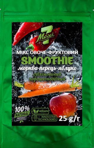 Smoothie морква-перець-яблуко